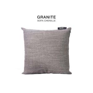 Granite chenille fabric cushion