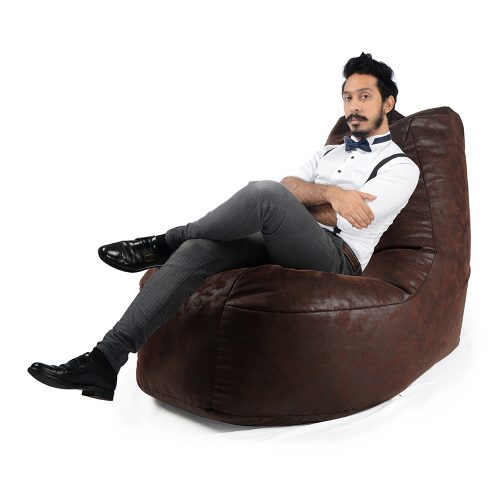 SoftRock Behemoth Bean Bag Couch