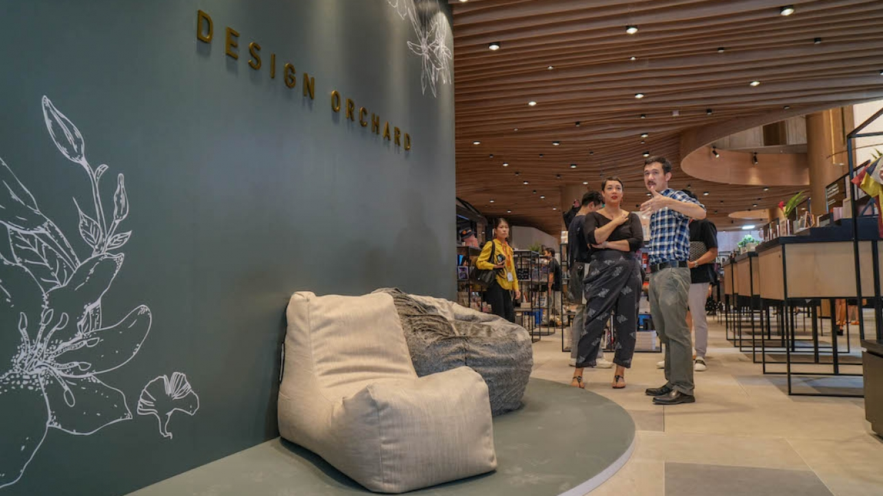Event] SoftRock Living showcased in Design Orchard as one of